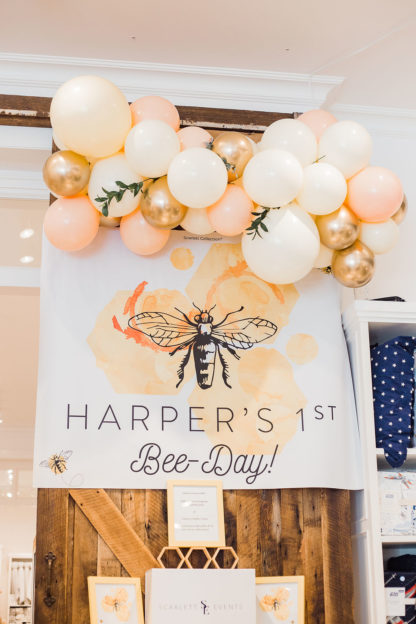 Scarlett Collection Party Honey Bee Balloons