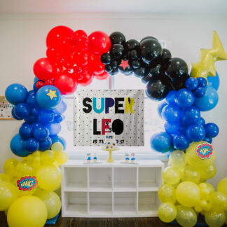 Super Hero Party In Box
